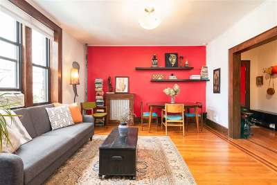 Jersey City Condo/Townhouse For Sale: 75 Fairview Ave #10