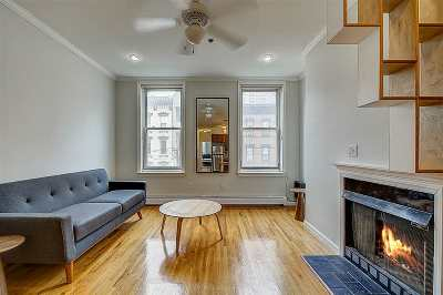 Hoboken Condo/Townhouse For Sale: 74 Garden St #4S