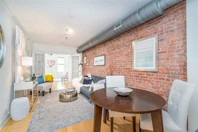 Jersey City Condo/Townhouse For Sale: 202 6th St #2L