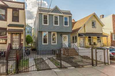 Jersey City Single Family Home For Sale: 173 Randolph Ave