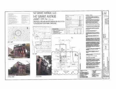 Jersey City Multi Family Home For Sale: 147 Grant Ave