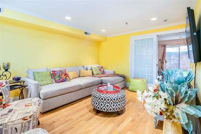 Hoboken Condo/Townhouse For Sale: 306 Bloomfield St #1