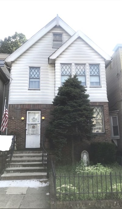 Jersey City Single Family Home For Sale: 45 Condict St