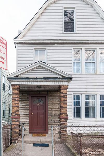 Jersey City Multi Family Home For Sale: 170 Randolph Ave