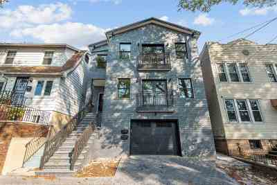 Jersey City Condo/Townhouse For Sale: 28 Terrace Ave #1