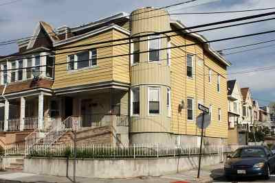 Jersey City Multi Family Home For Sale: 198 Bergen Ave