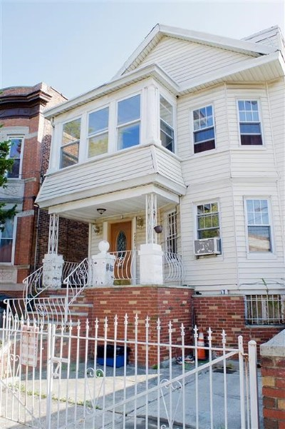 Jersey City Multi Family Home For Sale: 247 Fulton Ave