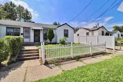 Jersey City Single Family Home For Sale: 147 Custer Ave