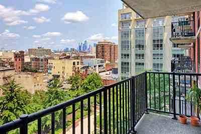 Jersey City Condo/Townhouse For Sale: 700 Grove St #8U