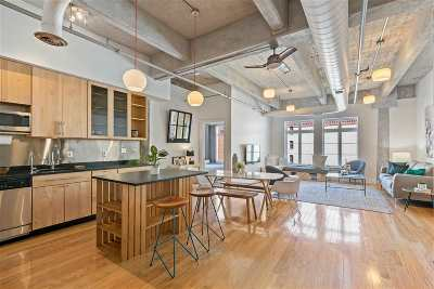Jersey City Condo/Townhouse For Sale: 140 Bay St #6d