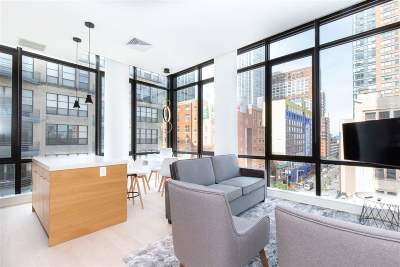 Jersey City Condo/Townhouse For Sale: 10 Provost St #708