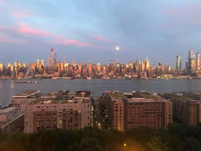Weehawken Condo/Townhouse For Sale: 883 Blvd East #5H