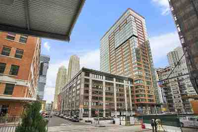 Jersey City Condo/Townhouse For Sale: 10 Provost St #2707