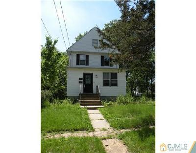 Piscataway NJ Single Family Home Closed: $120,000