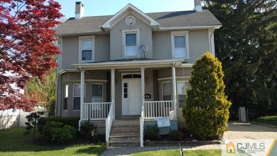 Single Family Home Sold: 189 Buckelew Avenue