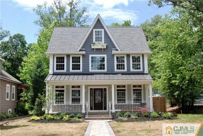 Metuchen Single Family Home For Sale: 360 Middlesex Avenue