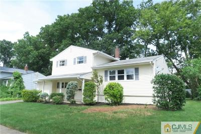 Colonia Single Family Home For Sale: 16 Alpine Place
