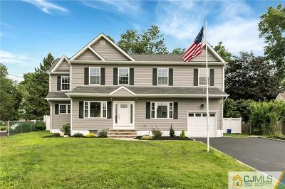 South Plainfield Single Family Home For Sale: 131 Garden Drive