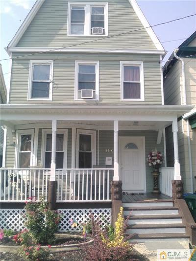 Perth Amboy Single Family Home For Sale: 313 Market Street