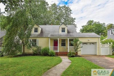 Metuchen Single Family Home For Sale: 93 Spear Street