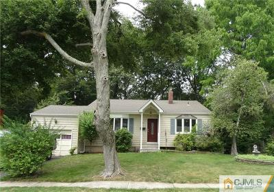 Edison Single Family Home For Sale: 22 Westminster Place