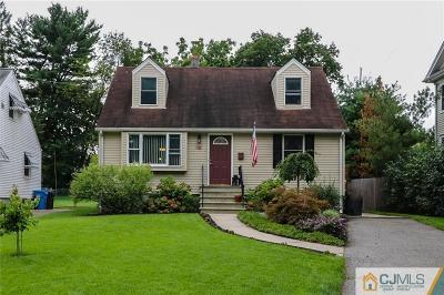 Metuchen Single Family Home For Sale: 30 Orchard Street