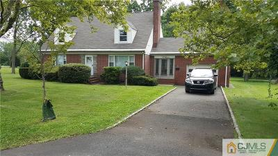 Somerset County Single Family Home For Sale: 2 S Middlebush Road