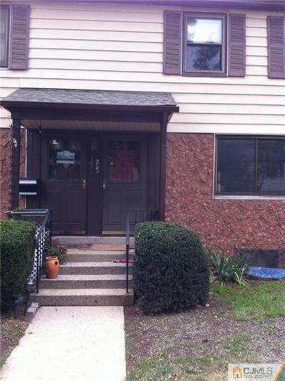Metuchen Condo/Townhouse For Sale: 209 Rose Street