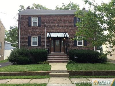 RAHWAY Single Family Home For Sale: 1735 Park Street