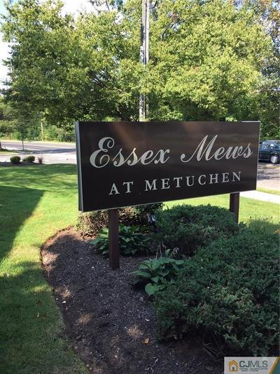 Metuchen Condo/Townhouse For Sale: 165 Essex Avenue #101