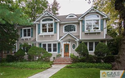 Metuchen Single Family Home For Sale: 68 High Street
