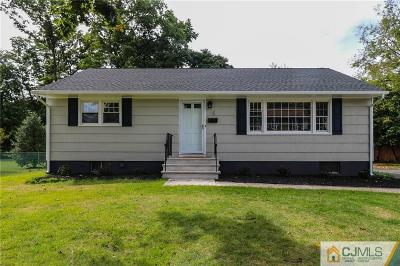 Piscataway Single Family Home For Sale: 15 Mansfield Road