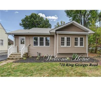 Fords Single Family Home For Sale: 710 King George Road