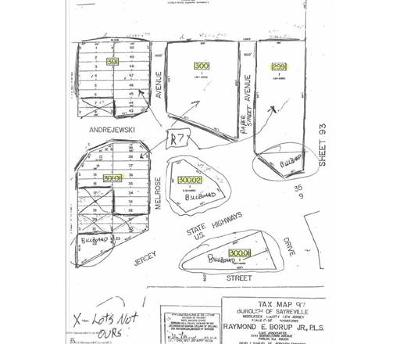 Sayreville Single Family Home For Sale: 00 Kearney & Melrose Avenue