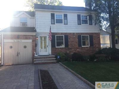 LINDEN Single Family Home For Sale: 121 Yale Terrace