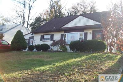 Sayreville Single Family Home For Sale: 10 Kendall Drive