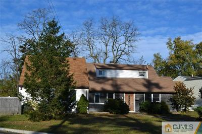 Sayreville Single Family Home For Sale: 1 Hope Drive