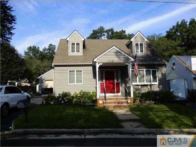 Piscataway Single Family Home For Sale: 24 Lehigh Avenue