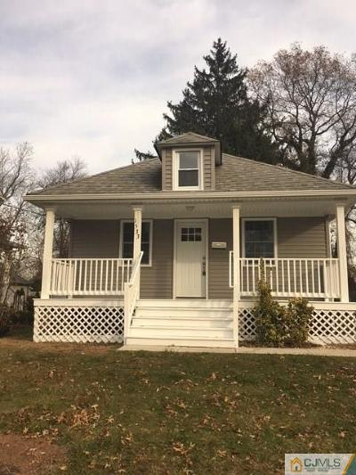 South Plainfield Single Family Home Active - Atty Revu: 1533 Chestnut Street