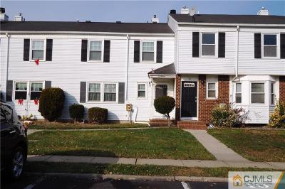 Sayreville Condo/Townhouse For Sale: 11 Orchid Court