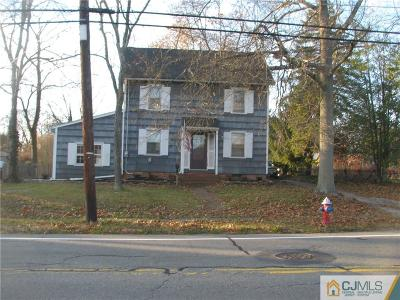 Somerset County Single Family Home For Sale: 43 S Middlebush Road