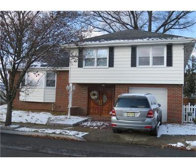 Perth Amboy Single Family Home For Sale: 635 Court Avenue