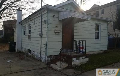Iselin Single Family Home For Sale: 161 Pershing Avenue