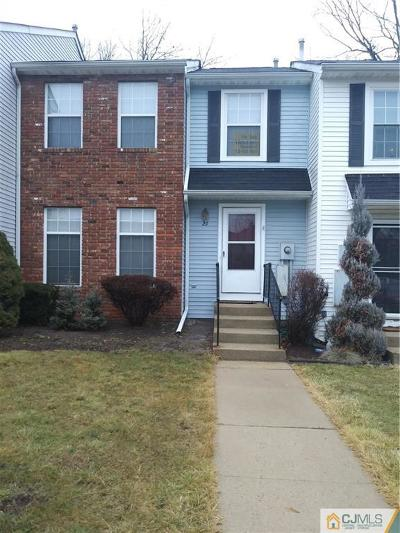 Sayreville Condo/Townhouse For Sale: 29 Byrnes Lane E