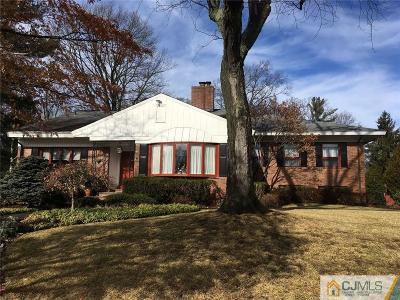 Edison Single Family Home For Sale: 5 Moraine Road