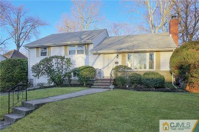 Metuchen Single Family Home For Sale: 22 Kent Place