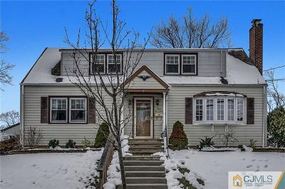 LINDEN Single Family Home For Sale: 1217 Dewitt Terrace