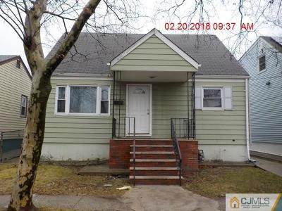 Perth Amboy Single Family Home For Sale: 430 Inslee Street