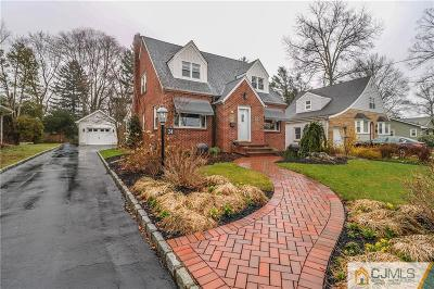 Metuchen Single Family Home For Sale: 24 Ross Avenue