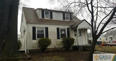 Sayreville Single Family Home For Sale: 252 9th Street